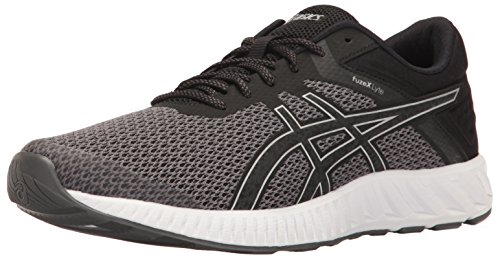 outlet supply ASICS Men's Fuzex Lyte 2 Running Shoe Black/Silver/White many kinds of cheap price low price for sale sale shop for cheap sale fashion Style Tn3CyJlp