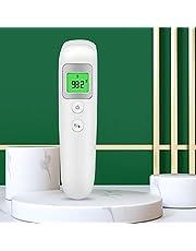 Nauwkeurige oor- en voorhoofdthermometer voor volwassenen, 35 geheugenterugroepatum, driekleur koortsalarm, infraroodthermometer voor baby's/kinderen