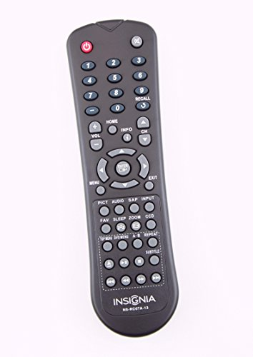 Original Insignia NS-RC07A-13 TV/ DVD Combo Remote Control f