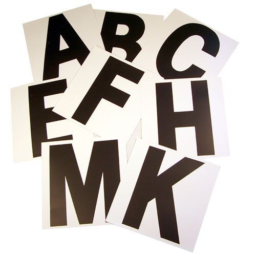 (Intrepid International Dressage Letters-Stick-On, Set Of 8)