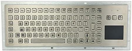 Teclado industrial rugoso del metal del quiosco IP65 con el ...