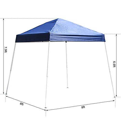 Generic O 8 O 4115 O Den Gaz Wedding Party Tent Tent G Pop Up Canopy Dding P 8X8ft Folding Outdoor Patio Up Cano Garden Gazebo Shade Oor Pat Color Random Nv 1008004115 Tyqfus32