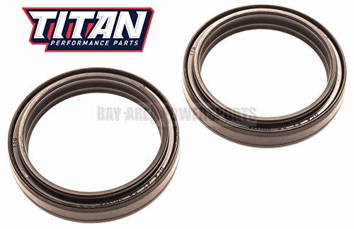 Crf Fork Seals - Honda CR250 CRF250 CRF450 CRF 250R 250 X 450R 450X Titan Fork Oil Seal Set