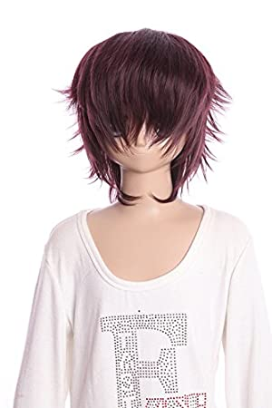 Kawaii-Story W DE 01 – 99j marrón Brown Corta 35 cm Bob Cosplay Peluca