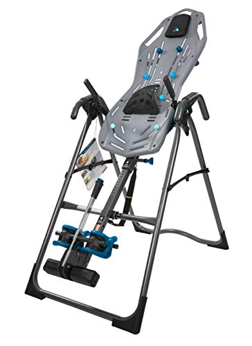 Teeter FitSpine X3 Inversion Table, 2019 Model, Deluxe Easy-to-Reach Ankle Lock, Back Pain Relief...