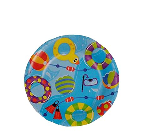 Set of 20 Kids Birthday/Party Dessert Tool Safe Paper Plates for Cake