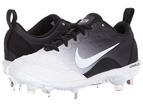 (Nike Women's Lunar Hyperdiamond 2 Pro Fastpitch Softball Cleats(Black/White, 7.5 B(M) US))