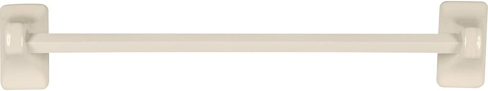 Kantu Apple Creek Ceramic Bathroom Towel Bar, 24 inch, Bone