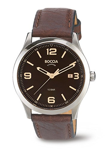 3583-01 Mens Boccia Titanium Watch