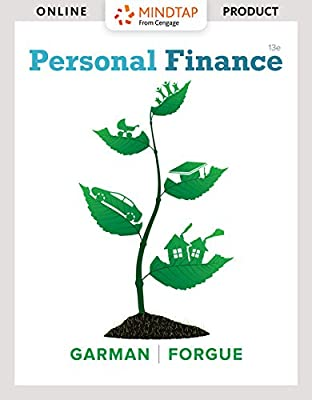 MindTapV2.0 Finance for Garman/Forgue's Personal Finance [Online Courseware]