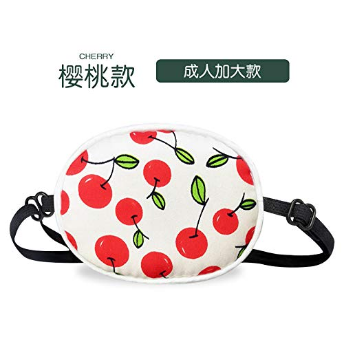 Adult Children's one-Eyed Single Eye mask Cover Shading Adjustable Cherry Model A