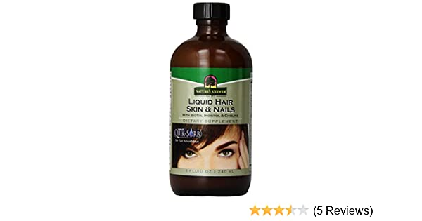 Amazon.com: Natures Answer Liquid Hair, Skin, and Nails Supplement, 8-Fluid Ounces: Health & Personal Care