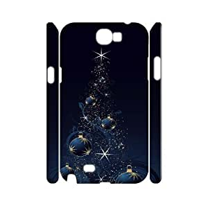 Samsung Galaxy Note 2 N7100 Christmas 3D Art Print Design Phone Back Case DIY Hard Shell Protection FG096774