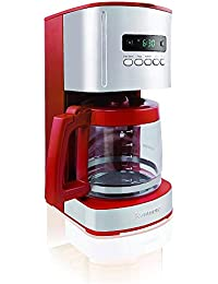 Kenmore 12-Cup Programmable Coffee Maker, Red Benefits