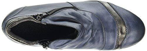 Altsilber 14 Ozean Femme Remonte D8770 Bottes Bleu Classiques qFwP6xB