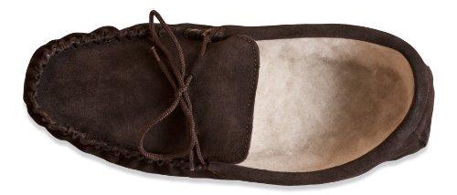 Nordvek - Zapatillas de estar por casa para hombre marrón - chocolate