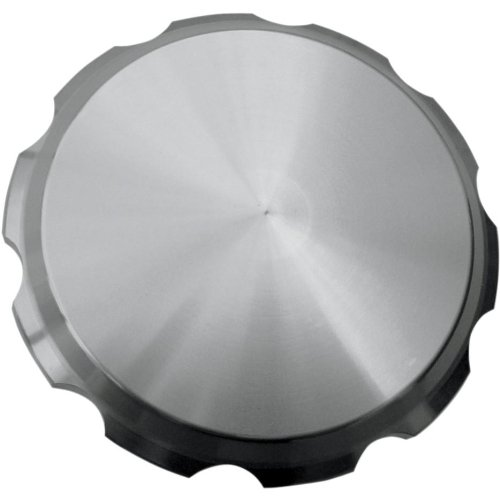 Joker MacHine Gas Cap Smooth Clear Anodized for Harley-Davidson All 1996-2012