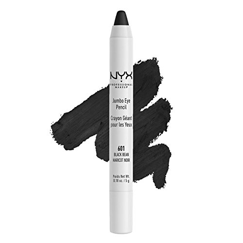 NYX PROFESSIONAL MAKEUP Jumbo Eye Pencil, Black Bean, 0.18 Ounce