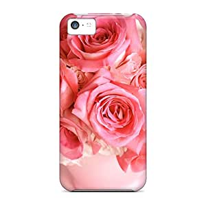 JJBaike UHhuAGc5590JefhW Case Cover Iphone 5c Protective Case Valentine Bouquet