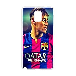 DIY Printed Bienvenido Neymar hard plastic case skin cover For Samsung Galaxy Note 4 N9100 SNQ862674