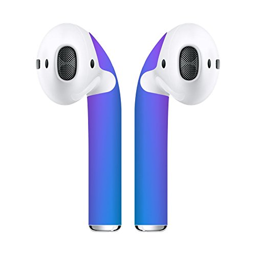 Airpod Skins Protective Wraps – Minimal Stylish Covers to Customize & Protect your Apple AirPods (Nebula)