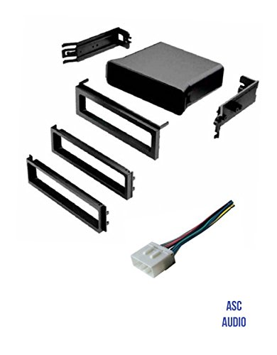 ASC Car Stereo Dash Install Pocket Kit and Wire Harness for Installing a Single Din Radio for Subaru: 2003 - 2006 Baja, 1998 - 2008 Forester, 1993 - 2007 Impreza, 1995 - 2004 Legacy, 2000-2004 Outback (Subaru Legacy Cd Player)