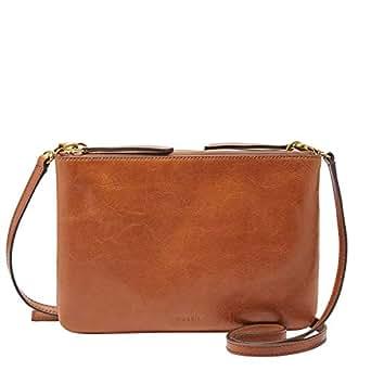 FOSSIL Women's Devon Bag, Brown, One Size