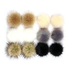 DescriptionThis bag charms made of artificial fur which feel so soft and beautiful. It's a small elastic cord on the pompom fur ball that you can easily attach and decorate it on your clothes, bags and keychain etc. And it also perfect any oc...