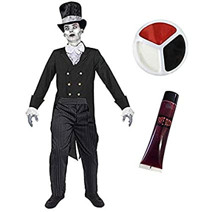 ILOVEFANCYDRESS Disfraz de Halloween de Zombie cadáver ...