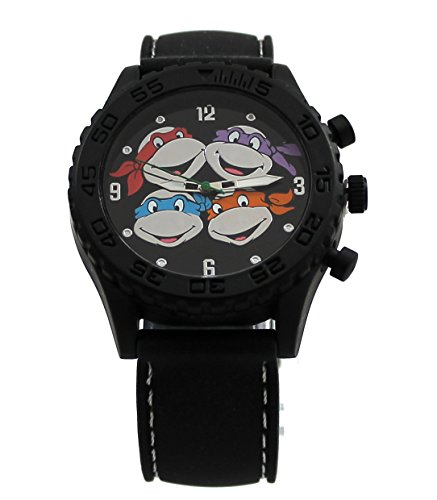 Teenage Mutant Ninja Turtles Cupcakes (Teenage Mutant Ninja Turtles Heads Black Rubber Strap Watch)