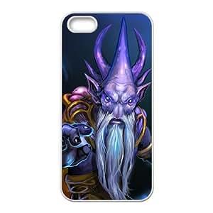 iphone5 5s White phone case Dark Seer Dota 2 DOT8680325