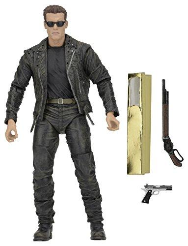 "NECA Terminator 2 (3D Release) 7"" Scale Galleria T-800 Action Figure"