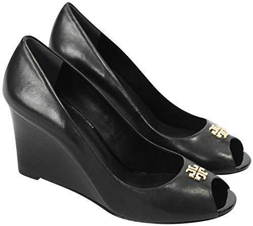 e24e88d0cf8 Galleon - Tory Burch Jolie 85MM Peep Toe Wedge Shoes