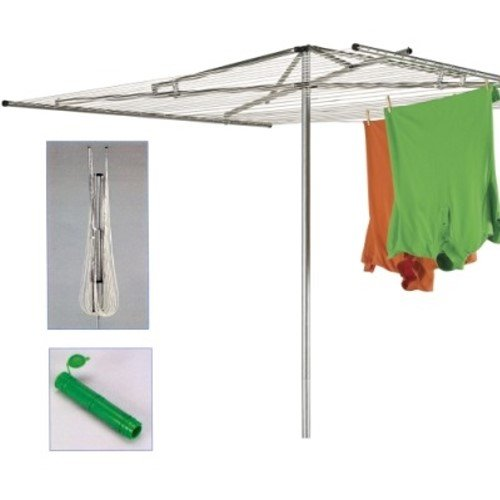 outdoor umbrella clothesline