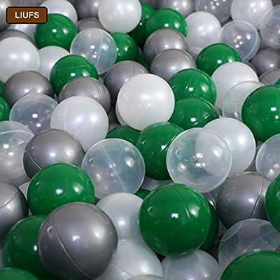 LIUFS-Valla Juego De Esponja For Niños Pool Ocean Ball Pool Fence ...