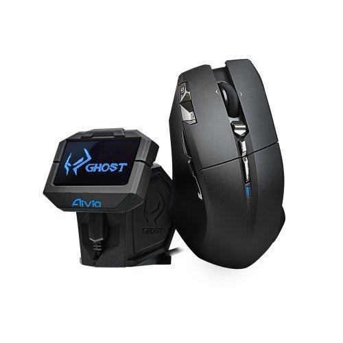 Microsoft Silver Laser Mouse - Gigabyte Aivia Uranium Wireless Gaming Mouse (GM-URANIUM)