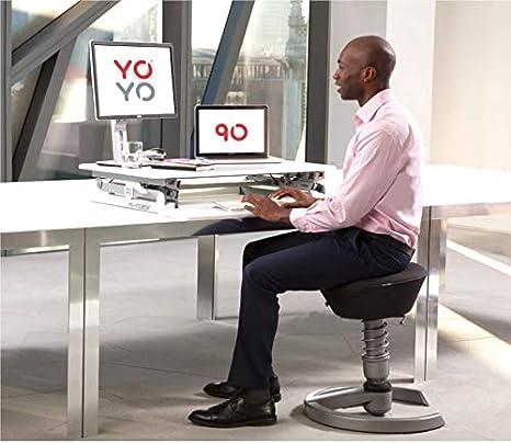 Bundle Offer Save 50 Yo Yo Desk Bundle Of 90 Standard Imprint Cumulu Spro Mat Raised Toilet Seat Desk Height Adjustable Desk 90 Cm Wide Amazon De Kuche Haushalt