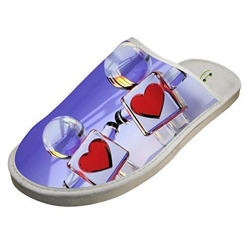 Cotton Glass Lovers Broken House Slippers Baboosh Chinela - Ross Rick Glasses