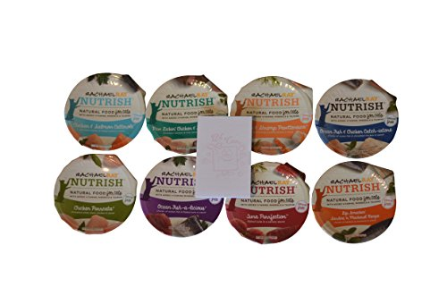Rachael Ray Nutrish Natural Wet Cat Food HUGE variety pack, 8 flavors (16 - Ray Cat
