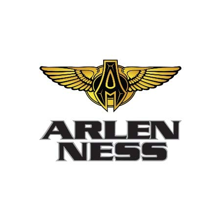 - Arlen Ness Method Clear Sucker All Black 18-965