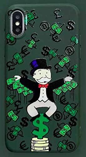 Funda para iPhone 7+ Plus/iPhone 8+ Plus Monopoly Billet Dollars 100 $ Argent USA Verde Carcasa de Moviles Caso Silicón: Amazon.es: Electrónica