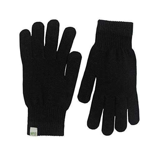Minus33 Merino Wool Glove Liner Black, Black, Medium