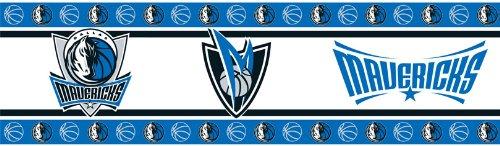 NBA Dallas Mavericks Wall Border