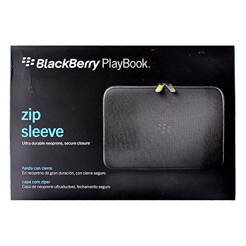 (Research in Motion Gray Zip Sleeve for BlackBerry Playbook Tablet (ACC-39318-304))