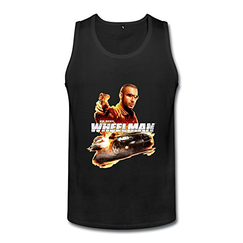 Men's The Wheelman Vin Diesel Tank Top - Shirt Vin Diesel