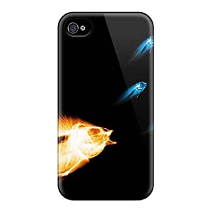 Megan A Ferguson Design High Quality X Ray Fishies Cover Case With Excellent Style For Iphone 4/4s