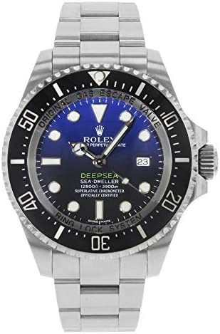 Rolex New DeepSea Deep Blue SeaDweller 116660 2019 BoxPaper5YrWarranty RL91