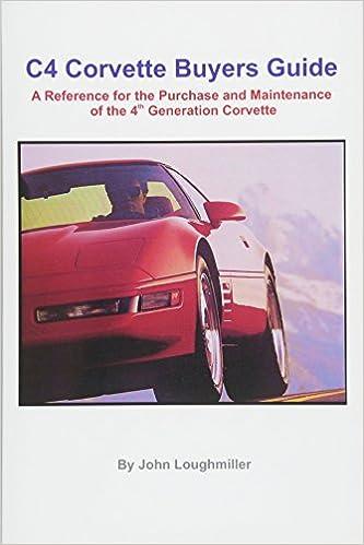 Corvette online's c4 buyers guide.