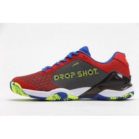 Drop Shot Conqueror Tech Red Zapatillas, Hombre rojo