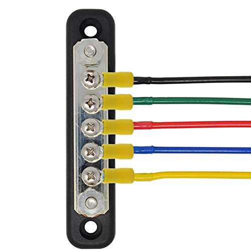 IZTOSS 100A Common Line Buss Bar Terminal power and ground Junction distribution Block by IZTOSS (Image #4)
